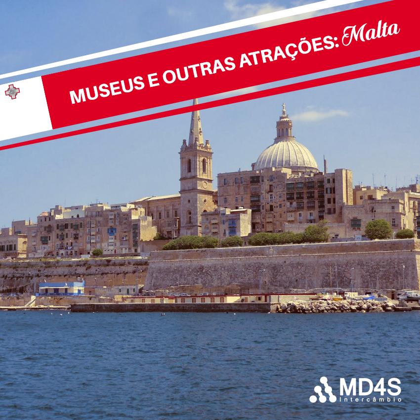 Museus e outras atracoes em Malta